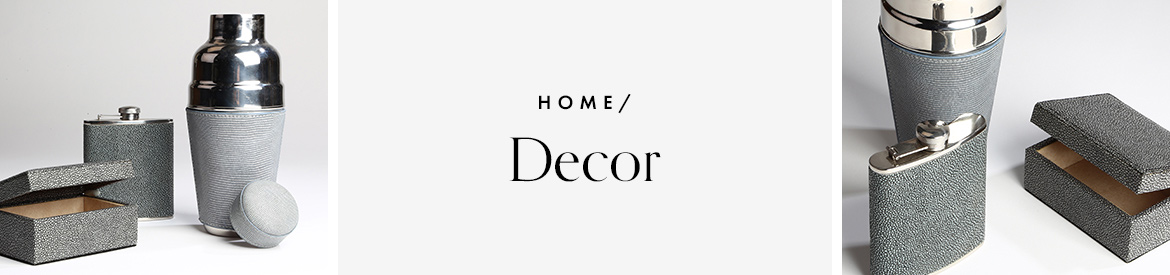 Leather Home Decor