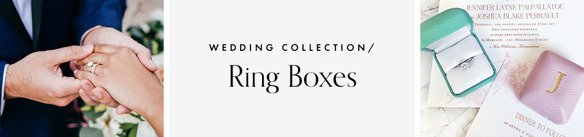 Leather Ring Boxes