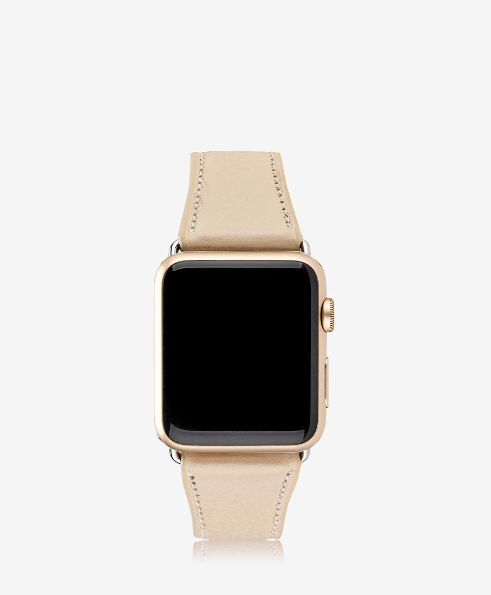 42mm Apple Watch Band Almond Pebble Grain AWS-42MS-FLO-ALM