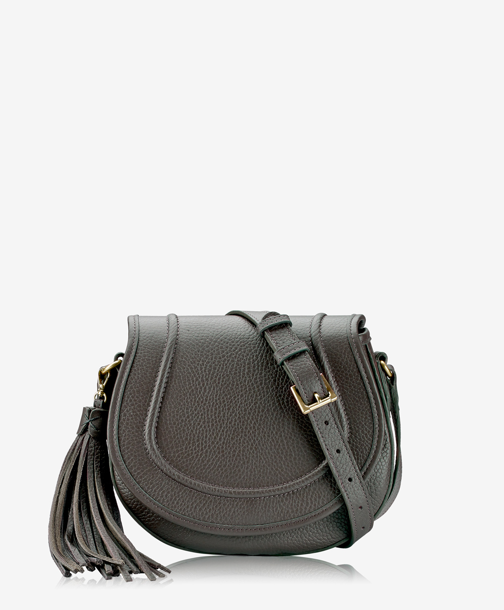 Jenni Saddle Bag Anthracite Pebble Grain JNI-TIM-ANT