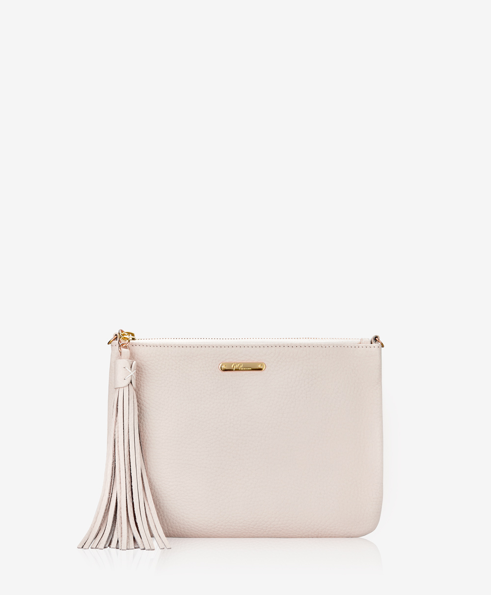 Chelsea Clutch Ivory Pebble Grain OBT-TIM-IVY