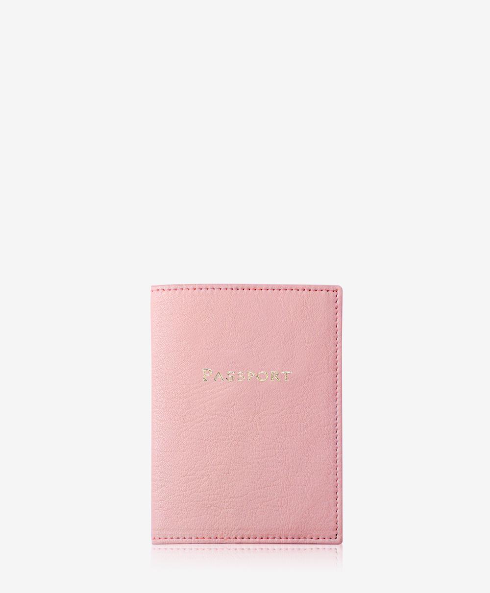 Passport Case Petal Pink Goatskin